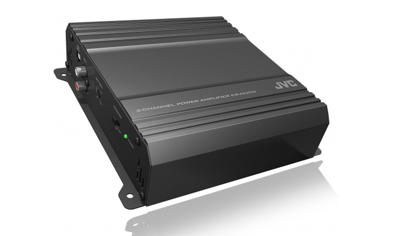 JVC KS-AX202 AX Series Class AB 2-Channel Amplifier 300 Watts Max Power