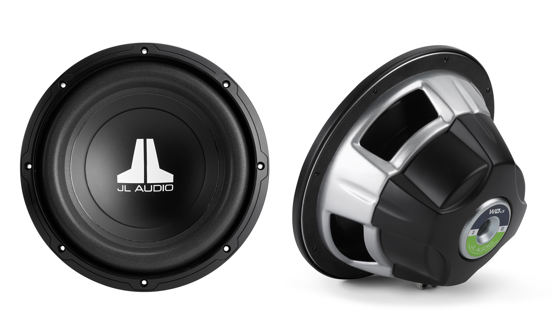 JL Audio 10W0v3-4 W0v3 Series 10inch 4-ohm subwoofer 600W Peak Power