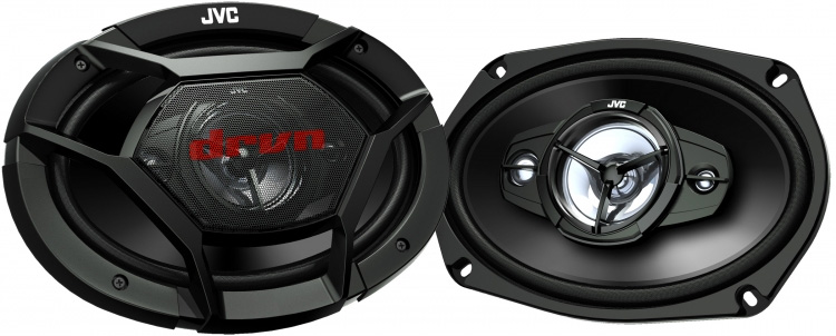 JVC CS-DR6941 DRVN DR Series 6x9 inch 550 Watts Max Power 4-Way Coaxial Speakers