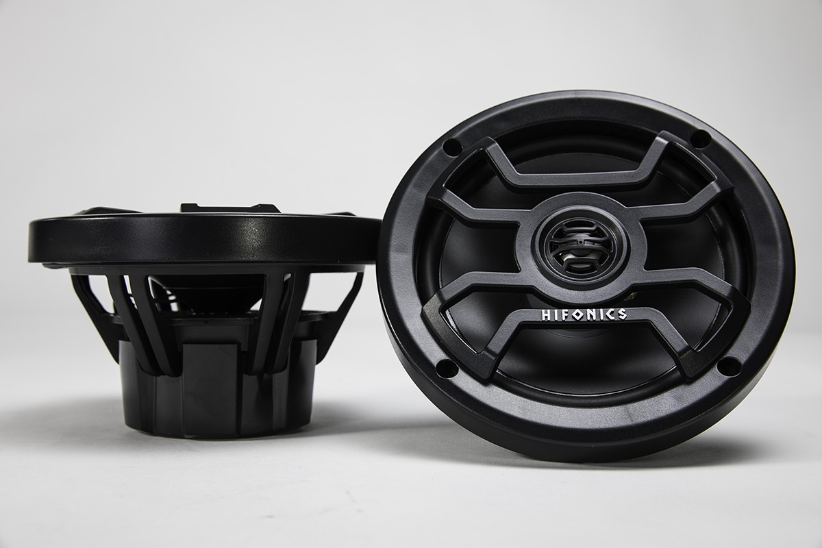 Hifonics TPS-CM65B Black 2-way coaxial THOR Marine and Powersports speaker