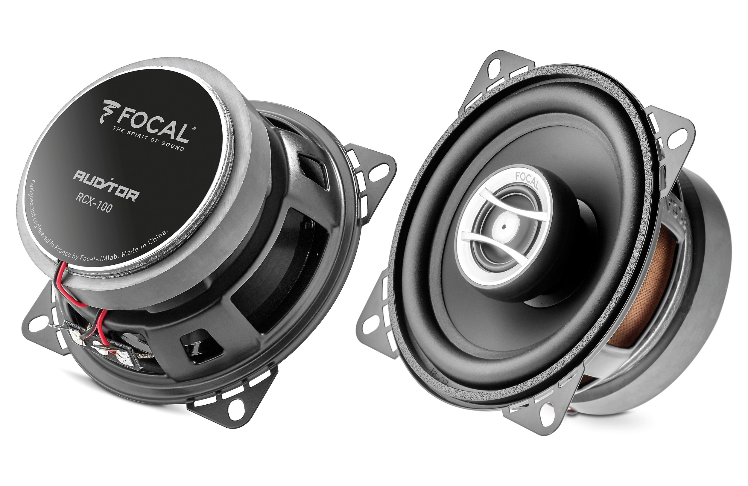Focal RCX-100 Auditor Series 4 inch 60 Watts Peak Power 2-Way Coaxial Kit