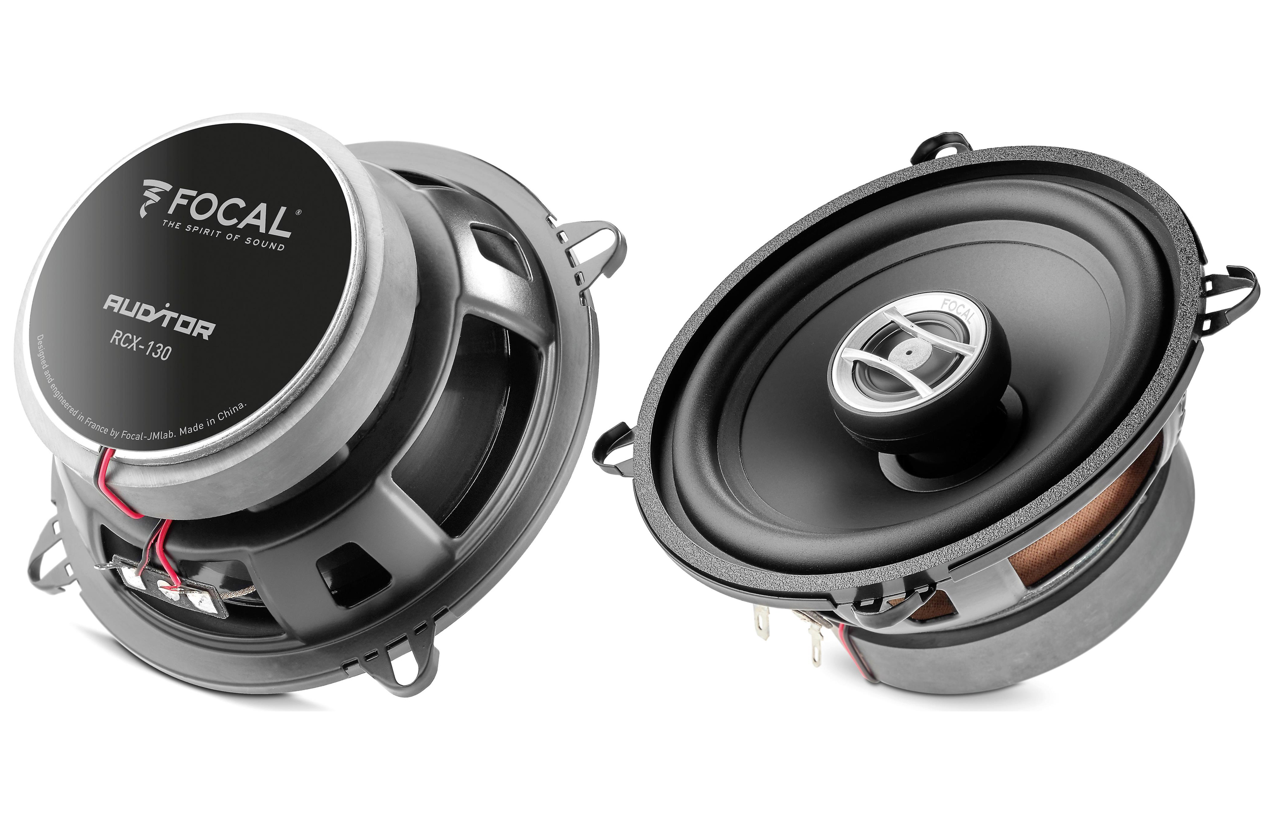 Focal RCX-130 Auditor Series 5 inch 100 Watts Max Power 2-Way Coaxial Kit