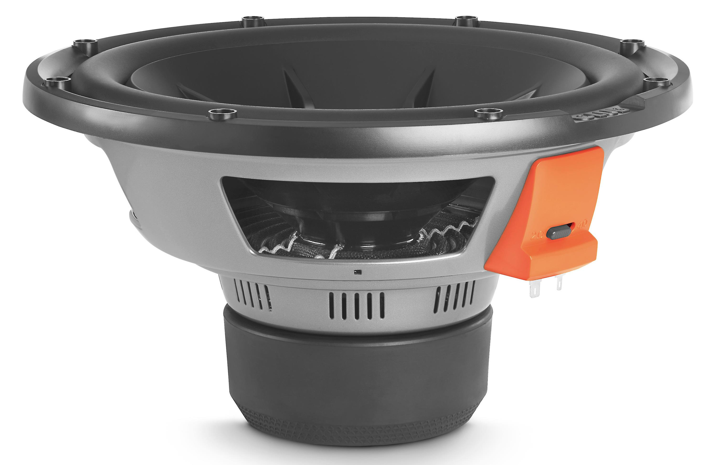 Aero-cooled voice coil