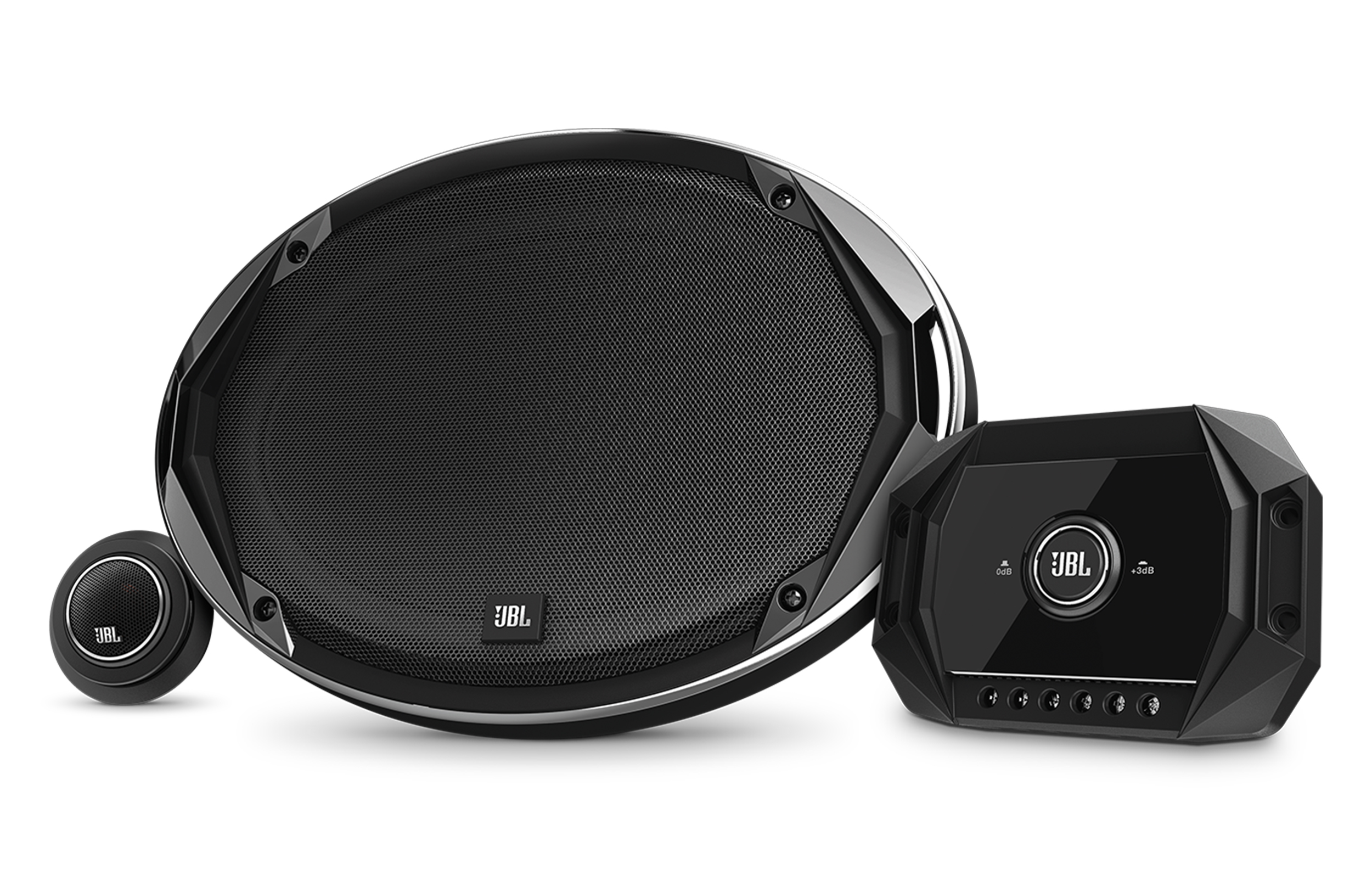 JBL Patented Plus One Glass Fiber Woofers with Rubber Surrounds