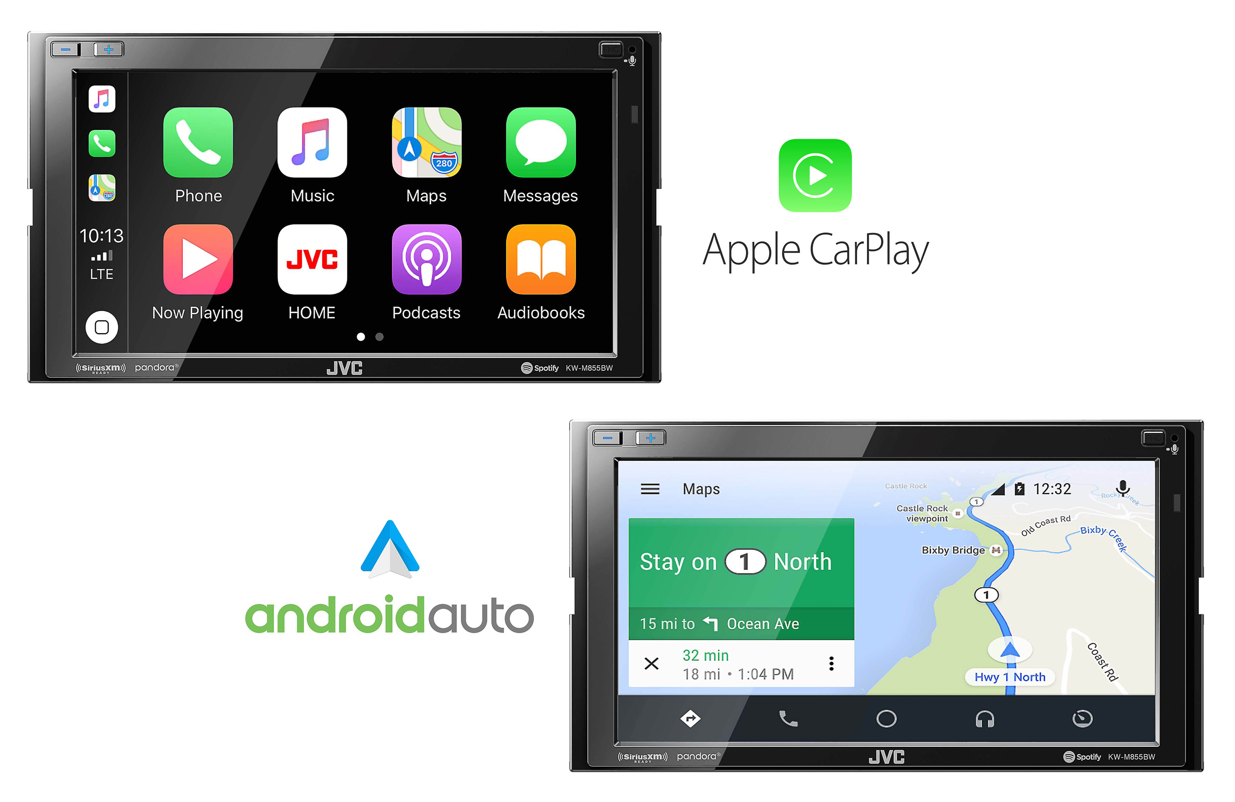Apple CarPlay & Android Auto