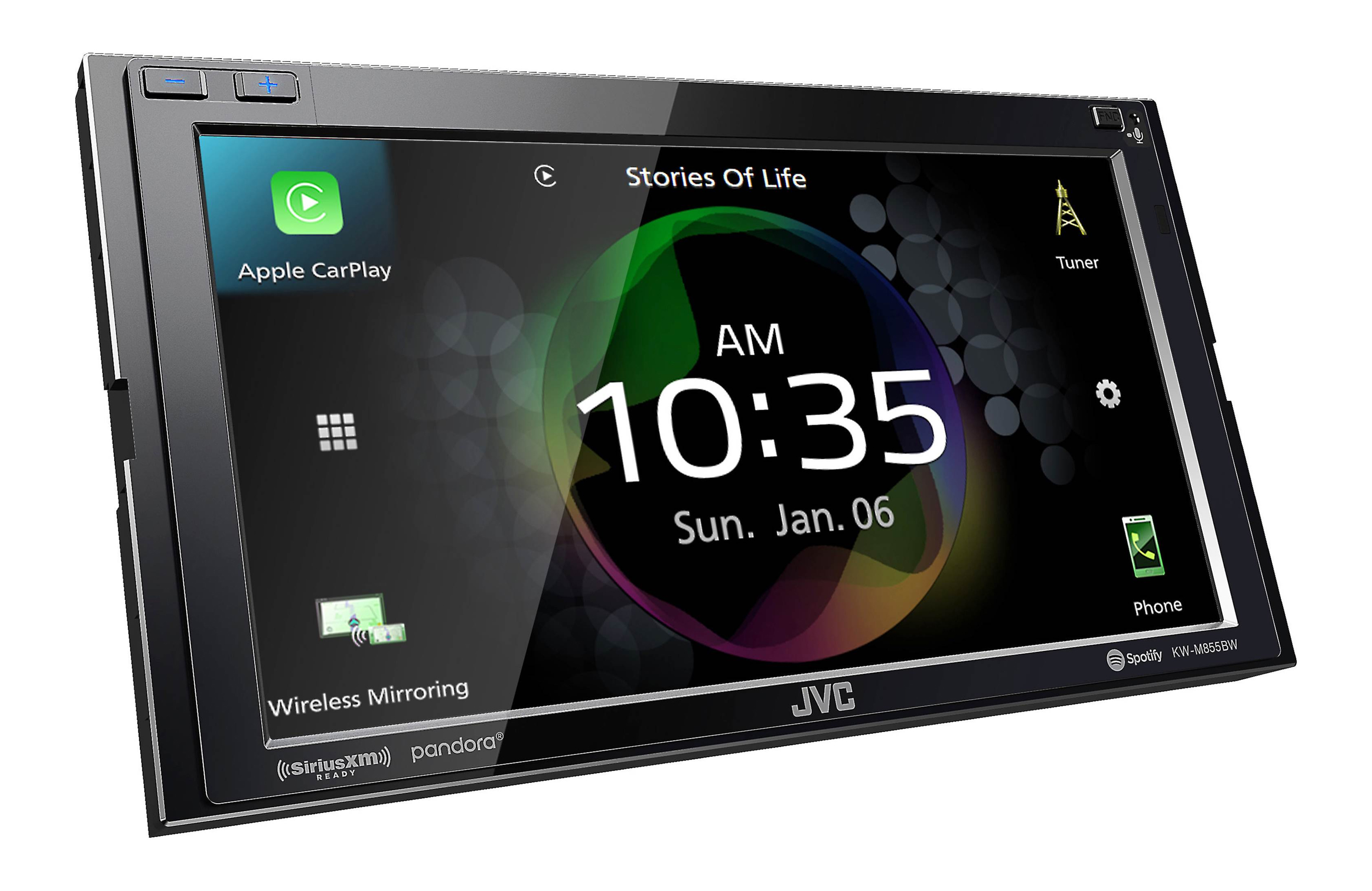 Clear Resistive Touch Panel Display