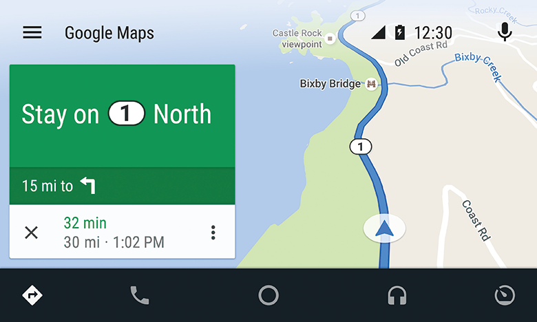Android Auto was designed with safety in mind, helping you to minimize distractions and stay focused on the road.