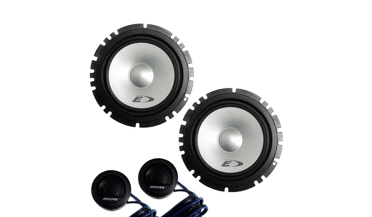 Alpine SXE-1750S 6-1/2 2-Way Type-E Series Component 2-Way Speaker